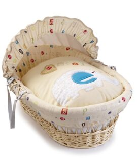 ABC Natural Wicker Moses Basket