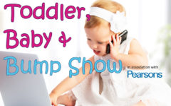toddler bump and baby show