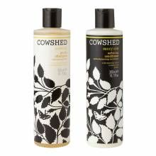 Cowlick gentle shampoo and saucy cow conditioner