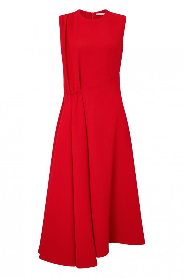 Emilia Wickstead Vivian Wool Cepe Dress £1685