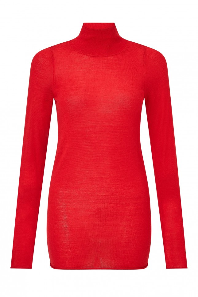 Joseph Fine Knit Merino Wool Turtleneck £165